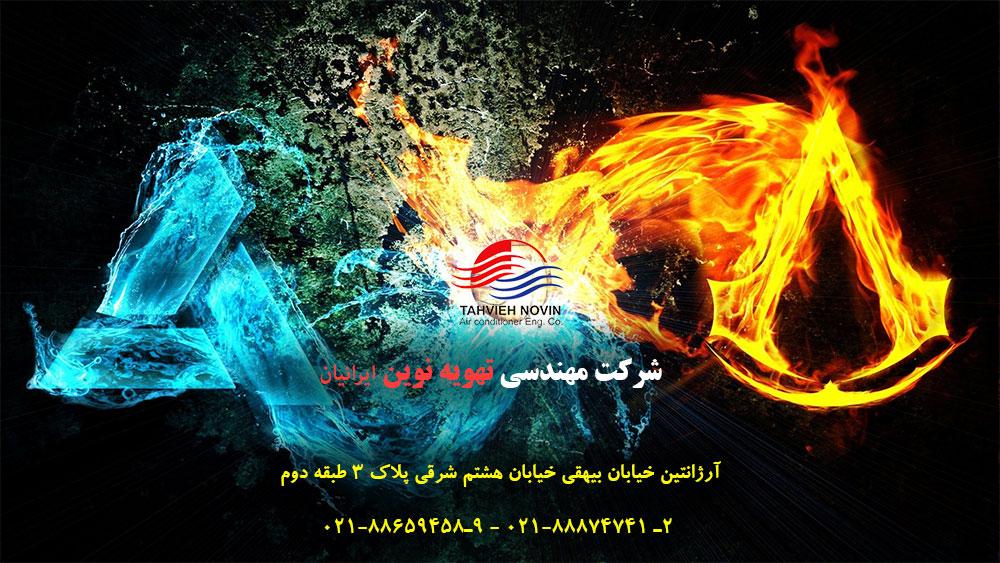 خدمات شرکت تهویه نوین ایرانیان